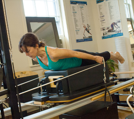 Intermediate Reformer Pilates